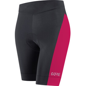 GORE WEAR C3 Tights short Women black/jazzy pink